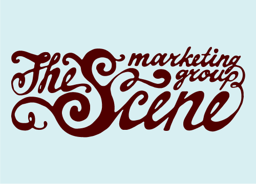 Logo for the SCENE marketing group'