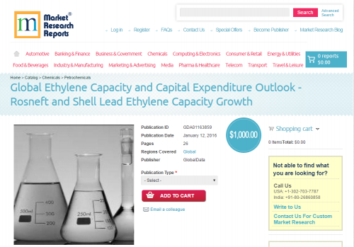 Global Ethylene Capacity and Capital Expenditure Outlook'