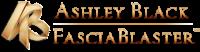 Ashley Black Fascia Blaster Logo