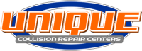 Unique Auto Body Logo