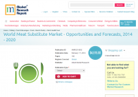 World Meat Substitute Market - Opportunities and Forecasts