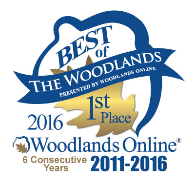 6th Year Best of The Woodlands Winner'