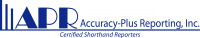 Accuracy-Plus Reporting Inc. Logo