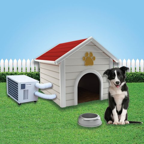 dog house air conditioning'