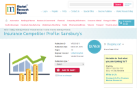 Insurance Competitor Profile: Sainsbury's
