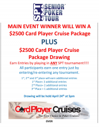 Card Player Cruises giving away $2500 Cruise Package!