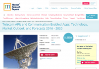 Telecom APIs and Communication Enabled Apps