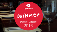 Vesper Diners' Choice Award