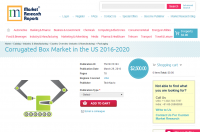 Corrugated Box Market in the US 2016 - 2020