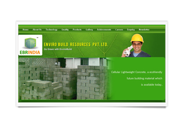 Logo for Enviro Build Resources Pvt Ltd'