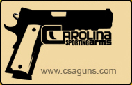 Logo for Carolina Sporting Arms'