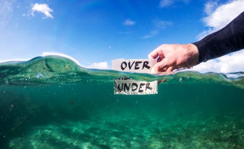 Make underwater photos better'