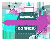 SandrasCraftingCorner.com Logo