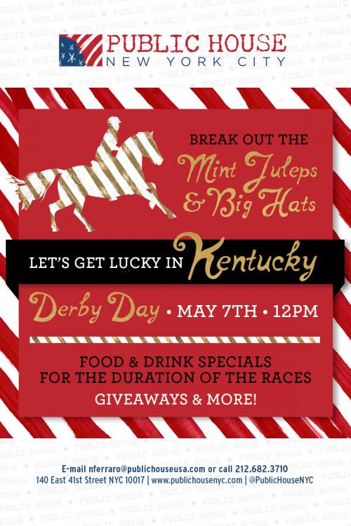 PH Kentucky Derby Flyer'
