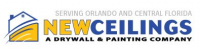New Ceilings Paint & Drywall Company Logo