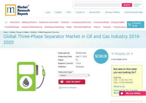 Global Three-Phase Separator Market in Oil and Gas Industry'