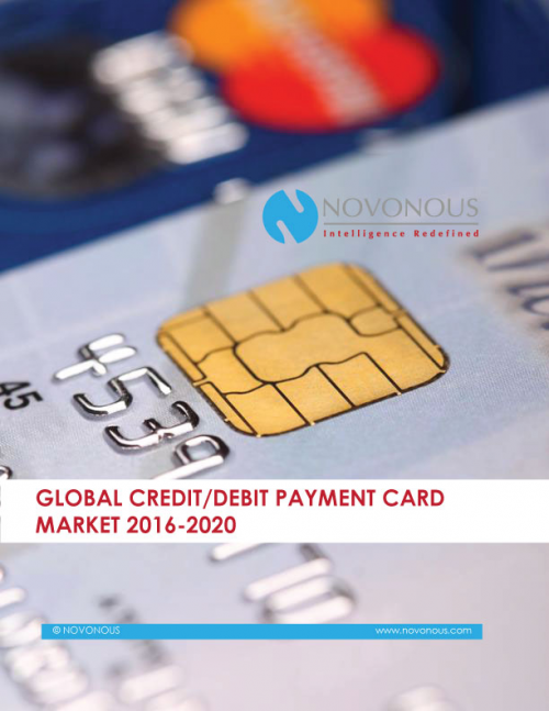 Global Credit Debit Payment Card Market 2016 - 2020'