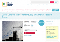 Global Concrete and Cement Industry 2016