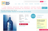 Coconut Water Market in Europe 2016 - 2020