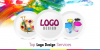 Custom logo design services London'