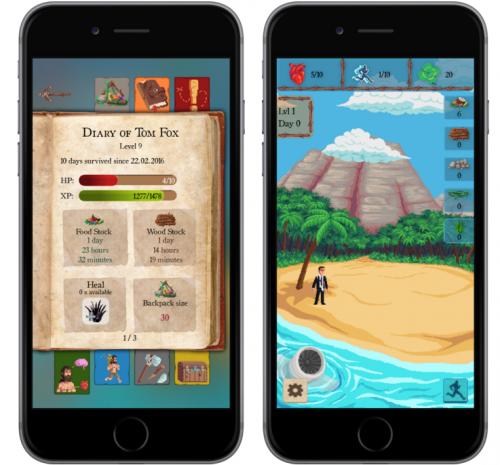 Runbinson App'