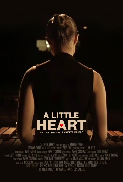 A Little Heart by Annette Prieto starring Breanna Baker'