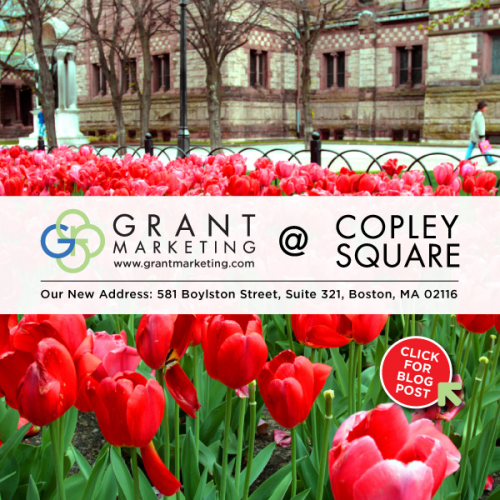 Grant Marketing, Expands into New Copley Square Space'