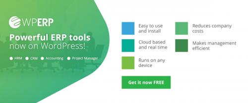 Powerful ERP Tools Now On WordPress'