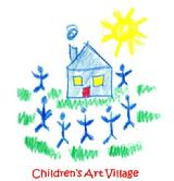 Logo for Children's Art Village'