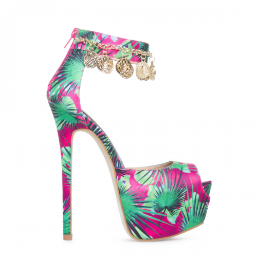 Spring ready printed Shoe'