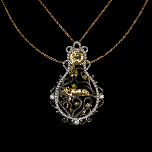 Volund Lion Pendant'