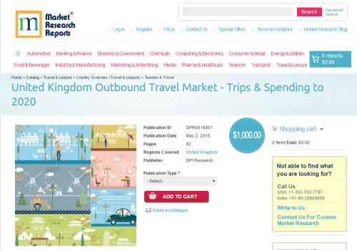 United Kingdom Outbound Travel Market - Trips & Spen'