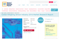 Global Weighing Sensor Industry 2016