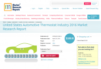 United States Automotive Thermostat Industry 2016