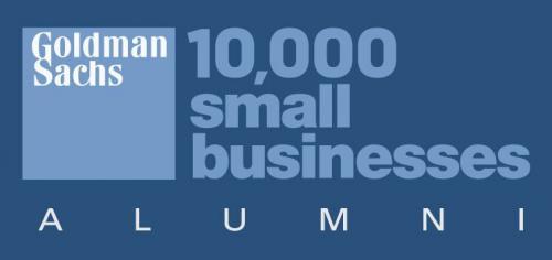 Goldman Sachs 10,000 Small Businesses Logo'