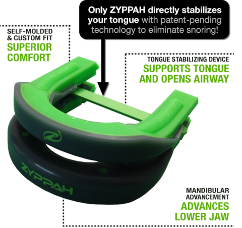 Zyppah Anti-Snoring Mouthpiece'