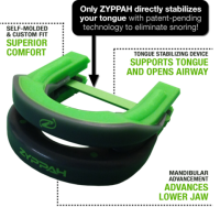 Zyppah Anti-Snoring Mouthpiece