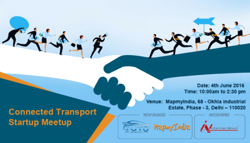 Connected Transport Startup Delhi Meetup'