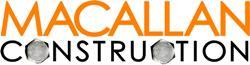 Logo for Macallan Construction'