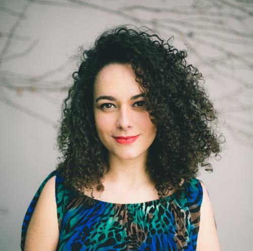 Brazilian-born artist, singer, and songwriter, Anna Beatriz.'