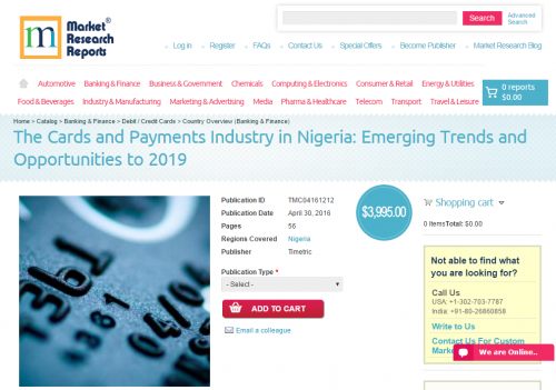 The Cards and Payments Industry in Nigeria'