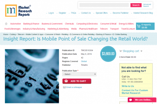 Insight Report: Is Mobile Point of Sale Changing the Retail'