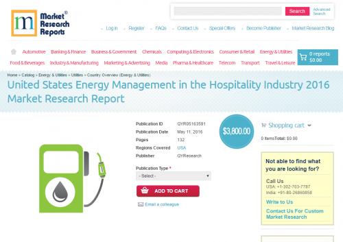 United States Energy Management in the Hospitality Industry'