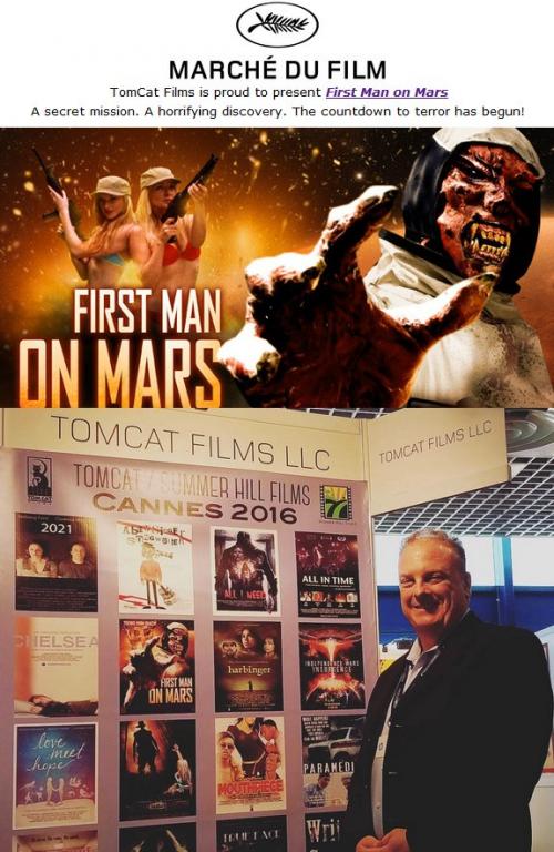 First Man on Mars'