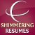 Logo for Shimmering Resumes'