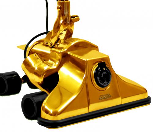 $1,000,000 Vacuum Cleaner 24k Gold Vacuum GV62711 GoVacuum'