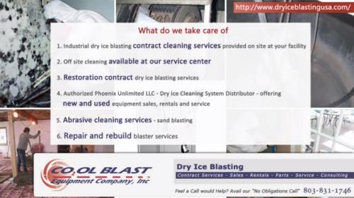 Dry Ice Blasting'
