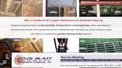 Dry Ice Blasting Equipment'