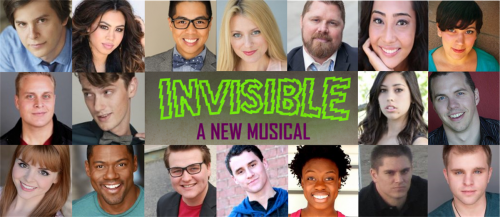 Higher Resolution INVISIBLE 2016 Cast Image'