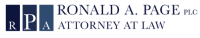Ronald Page, PLC Logo